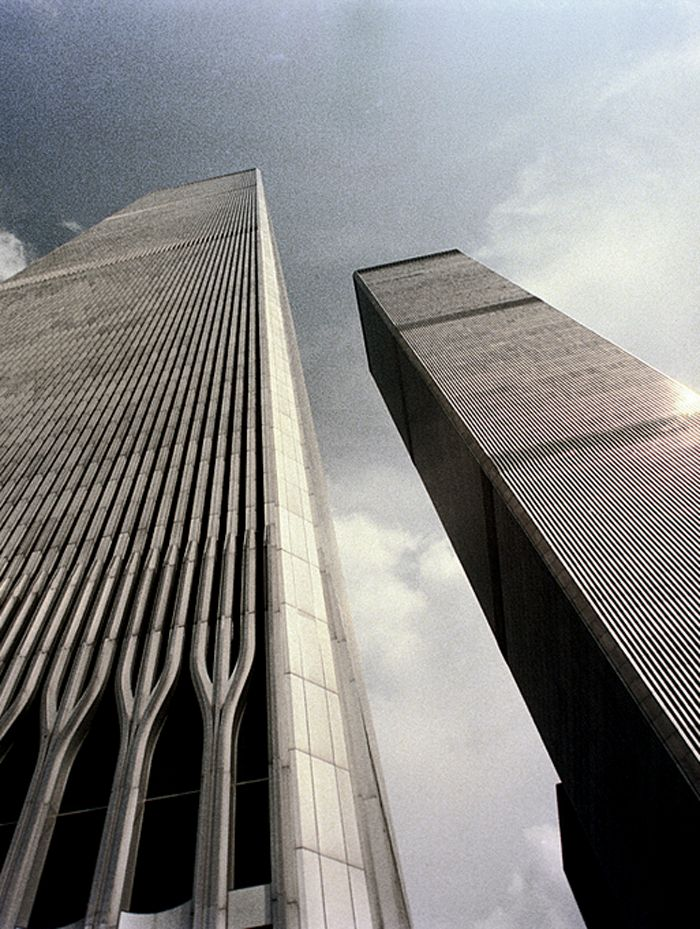 Stood on the observation deck of the World Trade Center's South Tower (Tower 2) - June 2001                                                                                                                                                     More