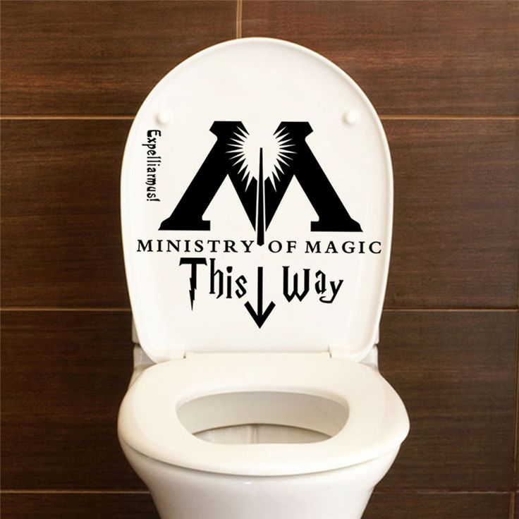 17 best ideas about harry potter room on pinterest harry for Decoration murale toilette