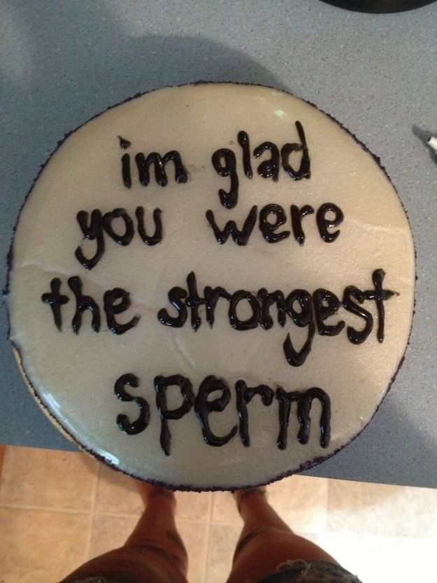 A very matter-of-fact birthday celebration. | 27 Occasions That Definitely Call For Cake