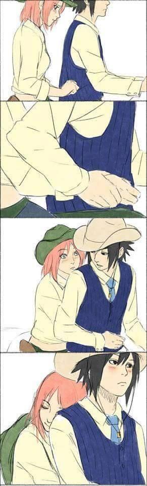 sasuke and sakura  sasusaku uchiha sakura and sasuke