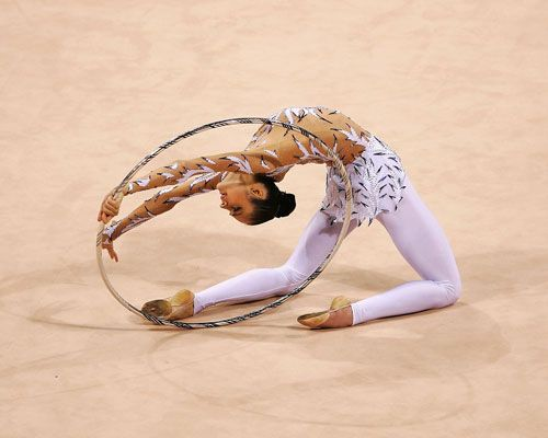 Spotlight on Anna Bessonova - The Official Website of the Beijing 2008 Olympic Games