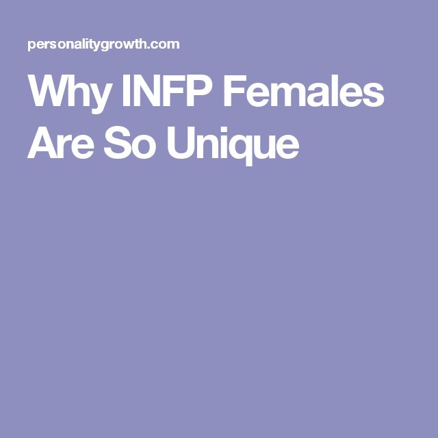 INFPs are some of the most misunderstood individuals, simply because they are different than the norm. This makes it hard for them to find people who can truly appreciate them. Once INFPs find someone who accepts them for who they are, they will hold onto them very tightly. They will give all of themselves to the people they love, since they do not take these connections lightly. INFP women do not believe in temporary relationships, and really only want to invest their energy into something…