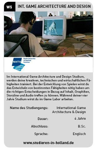 Fabulous Studiere International Game Architecture and Design an der NHTV Breda University of Applied Sciences