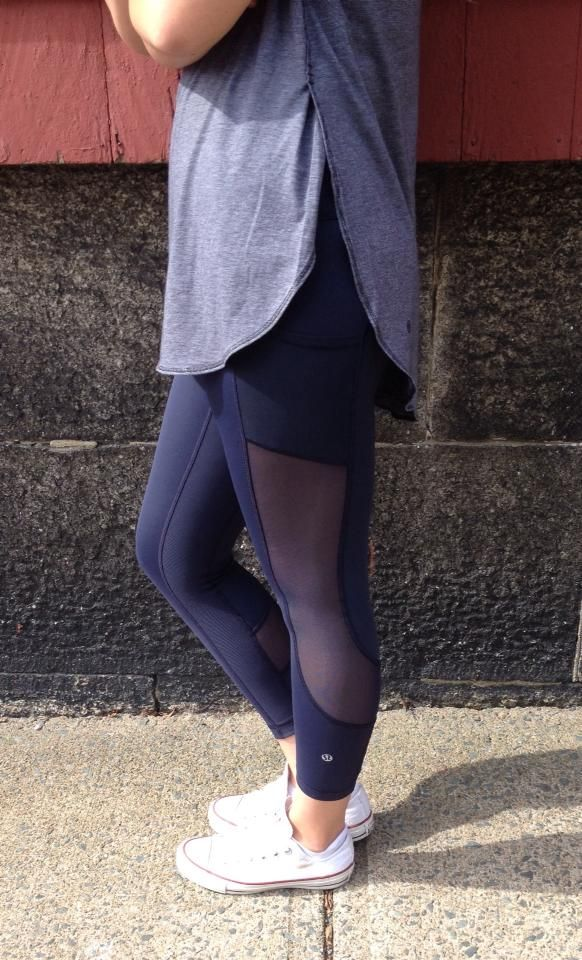 Lululemon Addict. pinned these before But I need these pants in my life