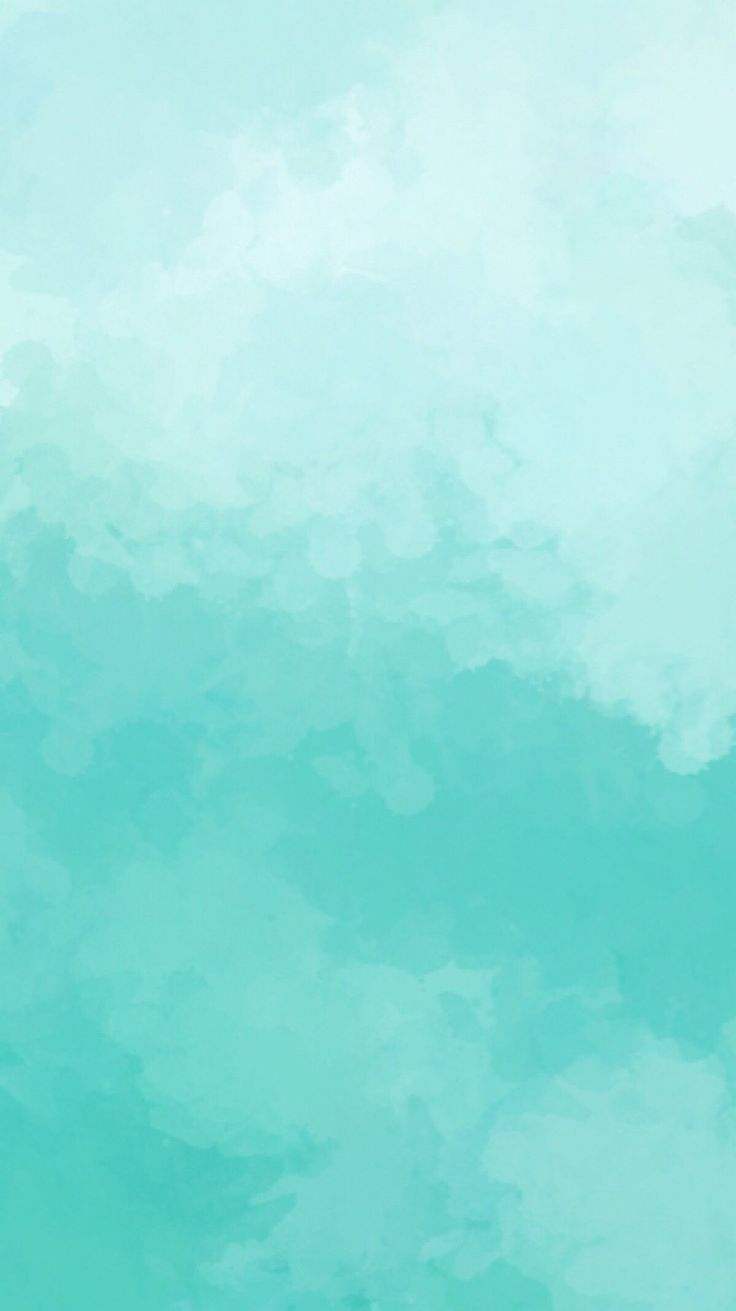 Blue Green Teal Water Color Background Blue Wallpaper Iphone