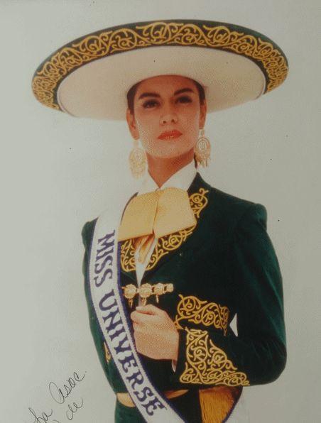 Lupita Jones, Miss Universe from Mexico 1991