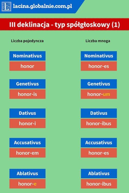 #łacina #3deklinacja #deklinacja3 #gramatyka  http://lacina.globalnie.com.pl/iii-deklinacja-lacina/