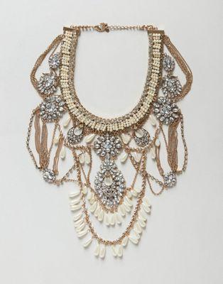 Ярусное ожерелье из цепочек ALDO