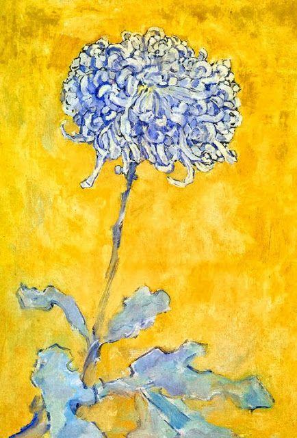 Piet Mondrian - Chrysanthemum, 1906