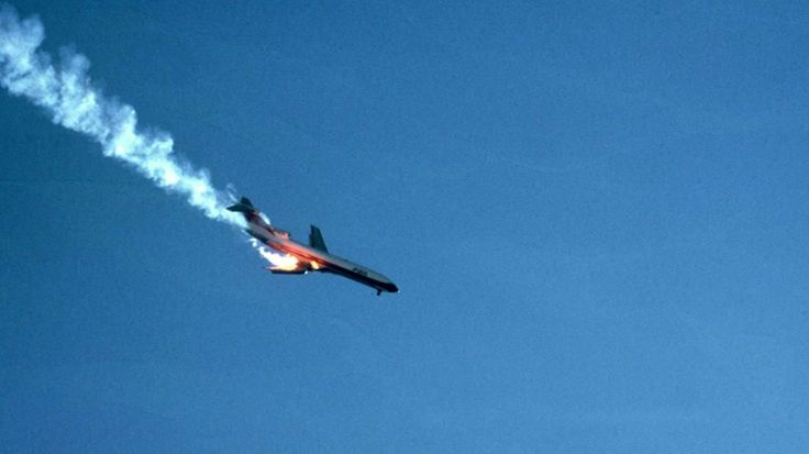 A 1978 midair collision between a commercial airliner and a private plane above San Diego was captured on film. See more on Why Planes Crash Monday on The Weather Channel.