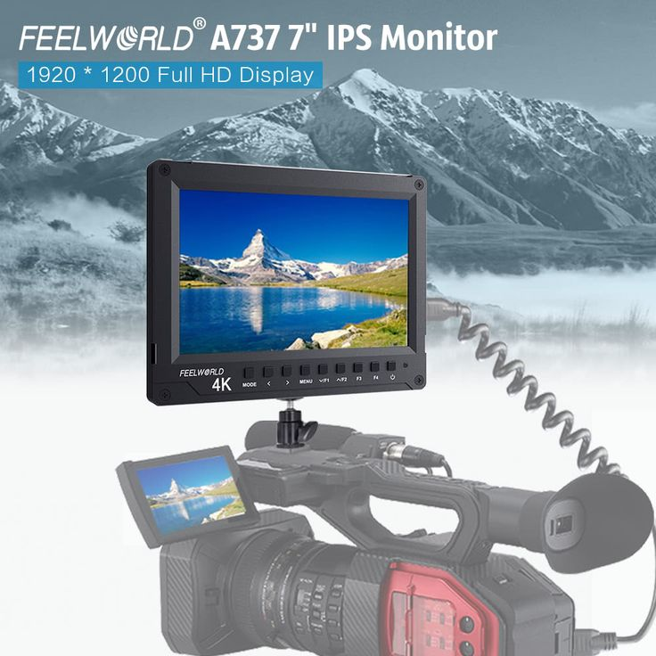 "Feelworld A737 7"" IPS Field Camera Sales Online black - Tomtop.com"