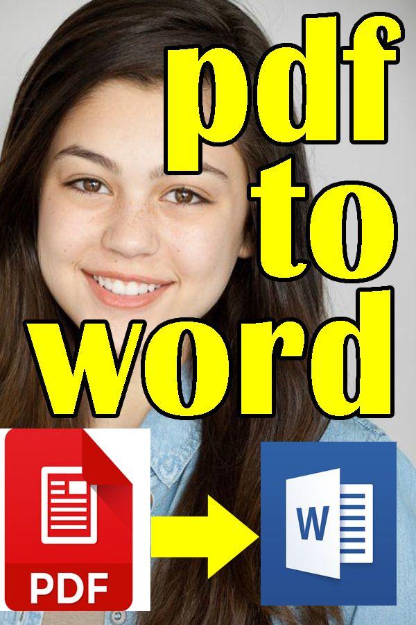 pdf to word #convert pdf to word #pdf editor #pdf converter