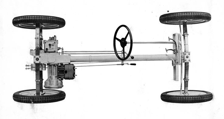 1933 Standard Superior chassis