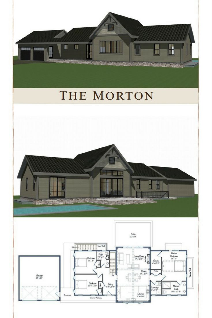 best 10 single level floor plans ideas on pinterest blue open popular single level floor plan the morton combines a vaulted post and beam living