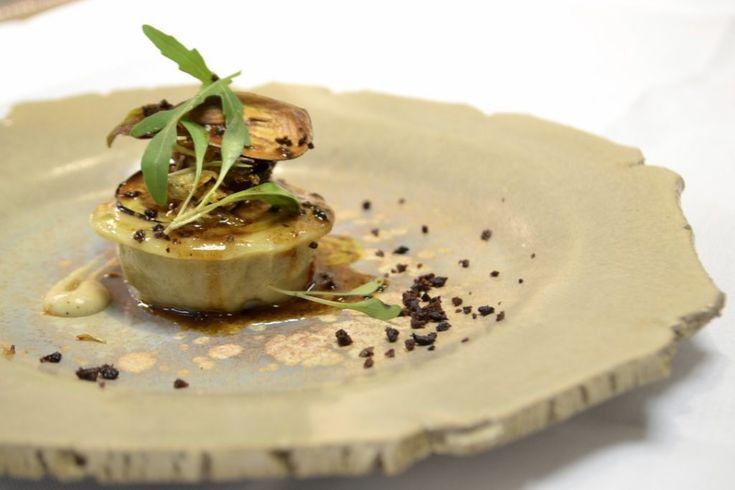 Raviole de foie gras - En coulisse d'un restaurant étoilé