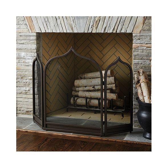 Moroccan Fireplace Screen Ballard Designs Decorative