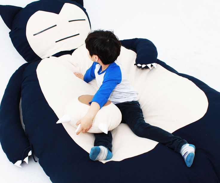 Rest your weary body like a true Pokemon master after you swap out your bed for the Snorlax bed. Better than any king size bed on the market, this handmade...