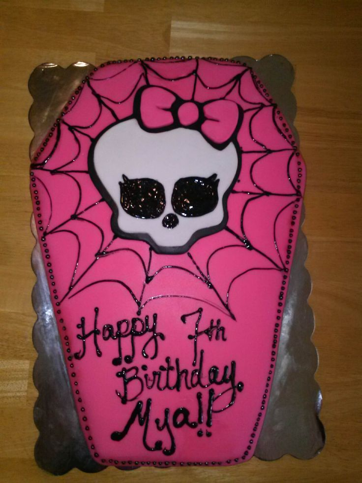 Best 25 Monster High Cakes Ideas On Pinterest Monster