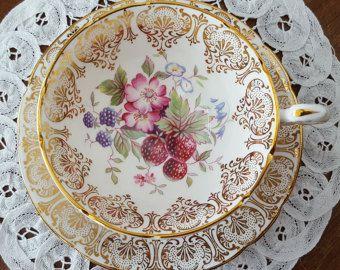 Royal Albert Canada Our Emblems Dear Teacup &