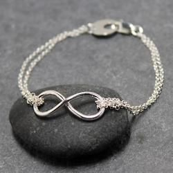 forever.: Infinity Signs, Jewelry Design, Infinity Jewelry, Silver Bracelets, Infinity Bracelets, Infinity Rings, Infinity Symbols, Engagement Ring, Friendship Bracelets