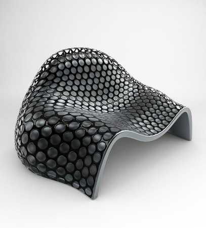 Perforated Chairs by Onur Ozkaya