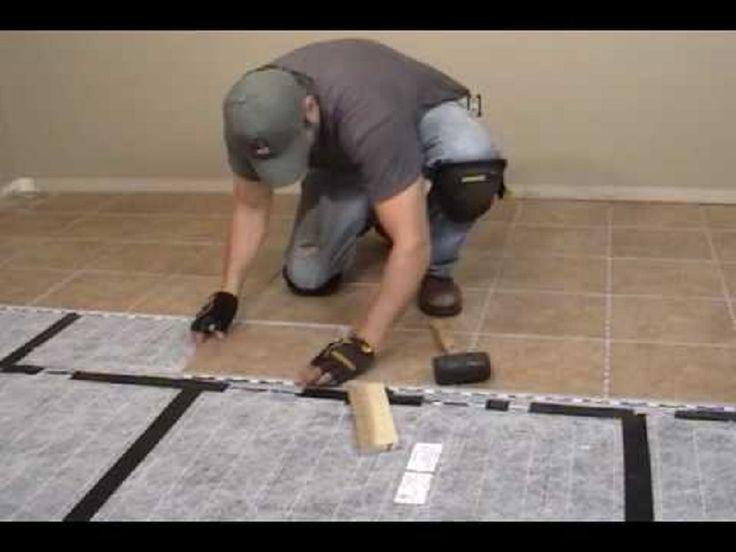 Heating A Tile Floor Diy ~ http://lanewstalk.com/the-heated-tile-floor-project-preparation/