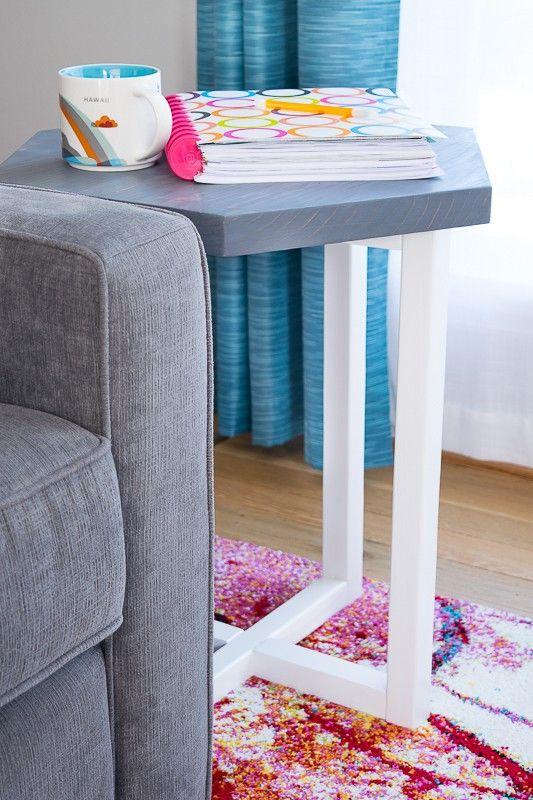 Mejores 1310 imgenes de wood projects en pinterest diy hexagon side table solutioingenieria Gallery