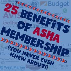 25 benefits of ASHA membership for speech language pathologists.