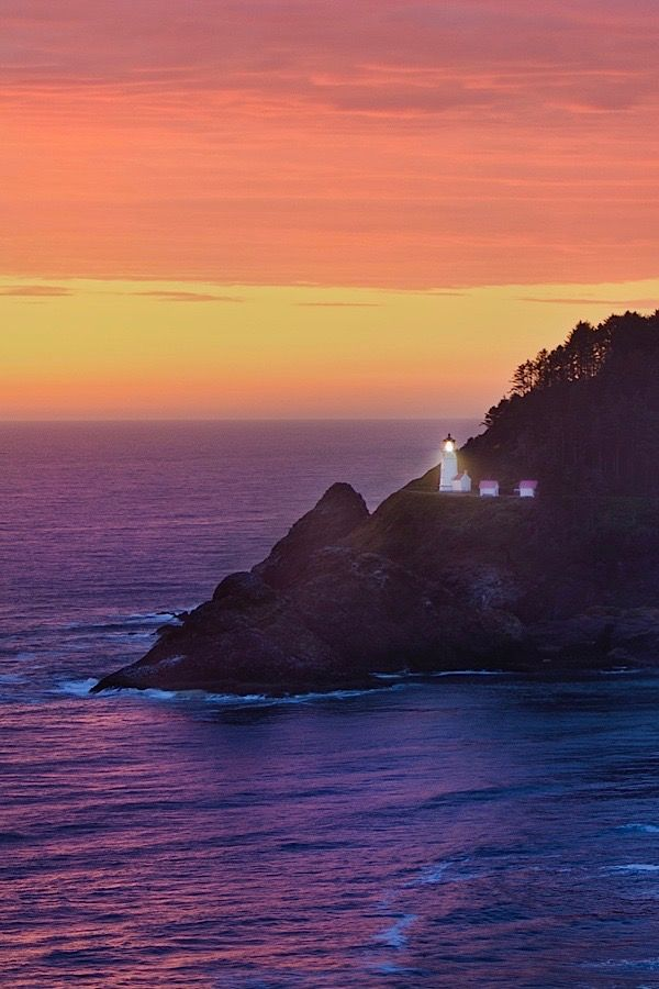 This Lighthouse Road Trip On The Oregon