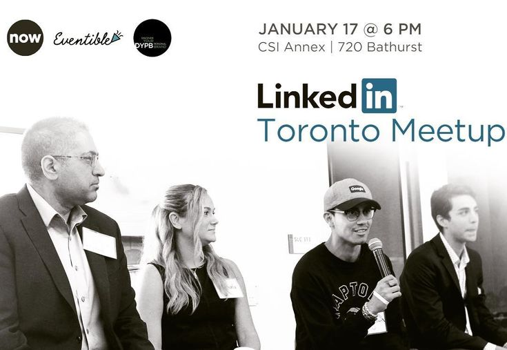 "3rd #LinkedIn #Toronto Meetup is live! Register now!  January 17 6PM at CSI Annex (720 Bathurst). #Toronto #career #events  Excited to be hosting this with @GoSwish & @DYPBTO! Thanks to our sponsors @nowcreates (@danielfrancavilla) and Eventible. We sold out the last meetup in one day so grab your tickets quick!  Register Here: https://lnkd.in/ghCW63s  The current event schedule looks like this:  1 Panel: ""Women Breaking Barriers"" with @kirstinestewart   Kelsey Cole Mary Garofalo…"