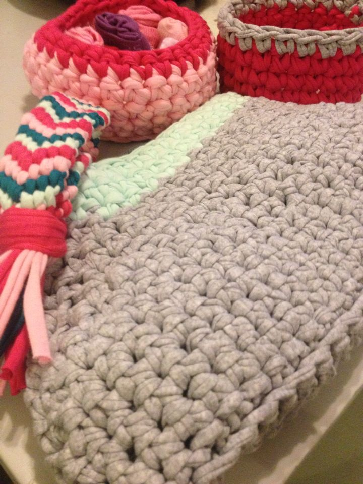 Tutorial Crochet Xxl : ... yarn projects- crochet xxl on Pinterest Macrame, Tutorials and Hooks