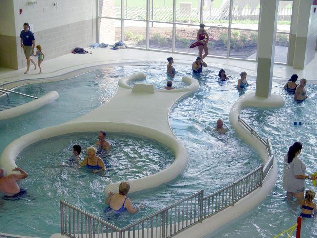 Perinton Community Aquatic Center Ballard King Leisure Pools Recreation Centers Aquatic