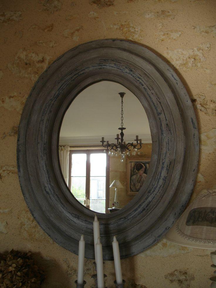 Charme des miroirs anciens 3 miroir pinterest for Coeur couronne et miroir