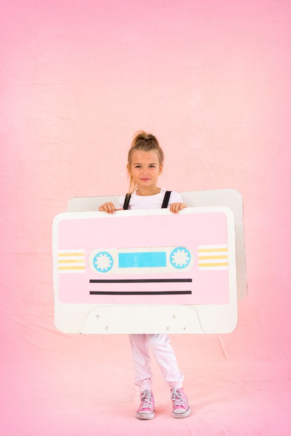 how to make a cassette tape costume