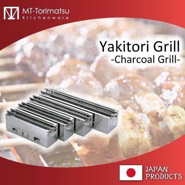 Japonés yakitori parrilla para profesionales y restaurante y bar
