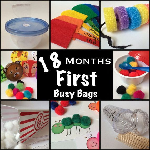 Busy Bags  Baby's First Learning Activities  by KeepingMyKiddoBusy