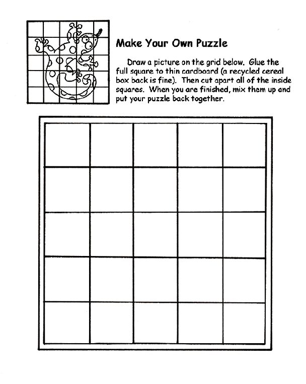 Scribble Drawing Crossword : Make your own puzzle compassion child pinterest
