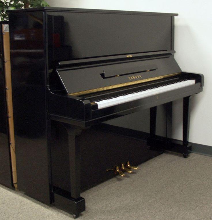 Yamaha Piano Polish Ebony Model U1 1970s refurbished in our shops | eBay