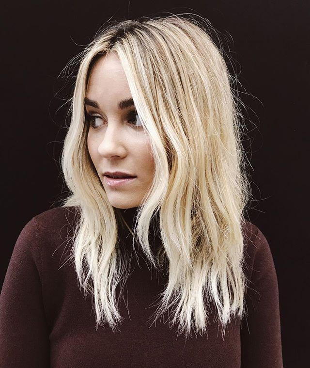 Kristen Ess hair styling on Lauren Conrad