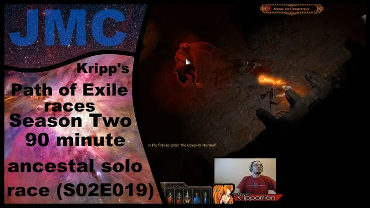 Kripp's Path of Exile races - Season Two, 90 Min Ancestral Solo (S02E019)