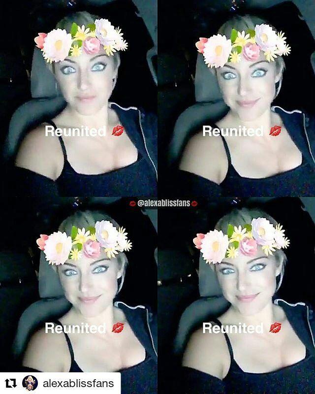 #Repost @alexablissfans (@get_repost) ・・・ Our beautiful @alexa_bliss_wwe_ on @niajaxwwe's Snapchat today!!  • • • • #alexabliss #finnbalor #samizayn #beckylynch #nxt #wwe #sdlive #smackdown #wrestling #likes #briebella #womenswrestling #bliss #wwenxt #smackdownlive #deanambrose #romanreigns #ajstyles #champion #blissful #fierce #kevinowens #cesaro #nikkibella #sethrollins #sashabanks #balorclub #lana #raw
