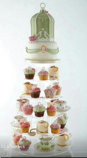 10 Images About Birdcage Amp Roses Tea Party On Pinterest