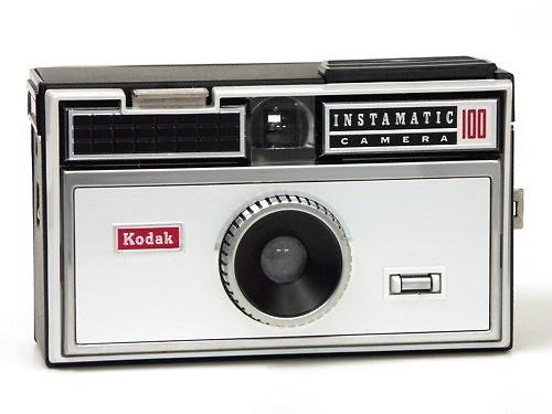 Kodak Instamatic 100, 1963.