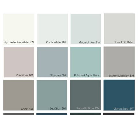 """2017 Paint Color Forecast Recap. Interesting take on all the paint companies """"purple undertone"""" choices for 2017. Pantone 2014 color was Radiant Orchid. Does it take 2-3 years for paint companies to catch on and for """"trends"""" to move?"""