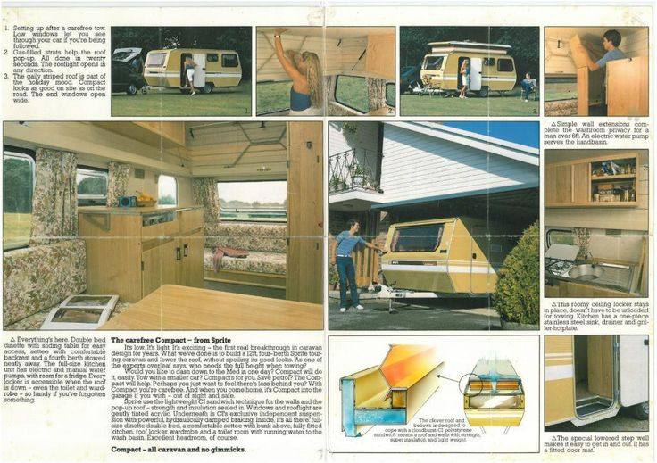 CI Sprite Compact Pop Top Caravan