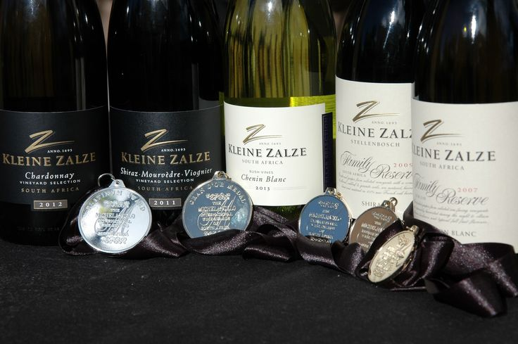 Our wines with their medals!