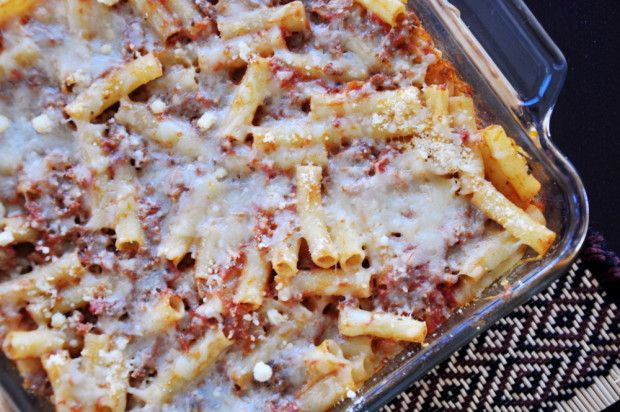 Make and share this Classic Baked Ziti recipe from Food.com.