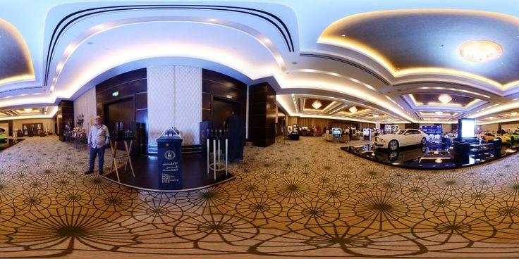 Panoramic view of World Luxury Expo, Doha #1
