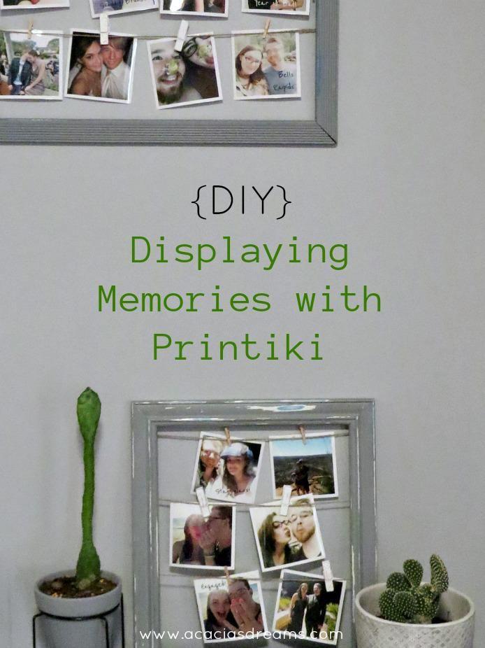 {DIY} Displaying Memories with Printiki