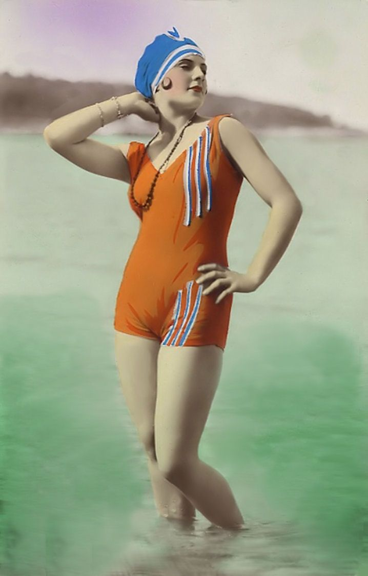 Vintage Graphic Arts: Bathing